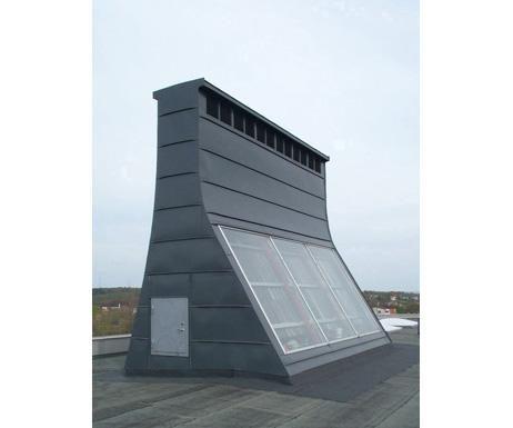 chimenea solar casera
