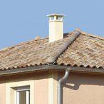 Chimenea en tejados