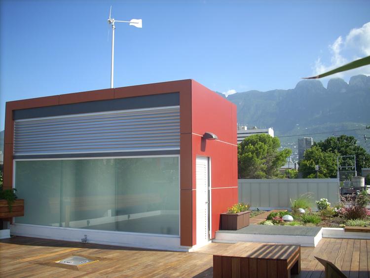 chimenea solar manzanares