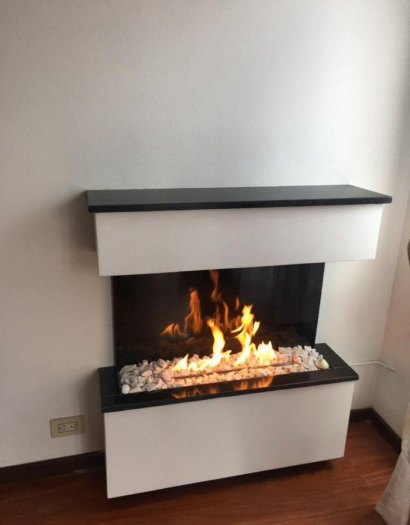 chimenea francesa ventachimenea de gas en un piso