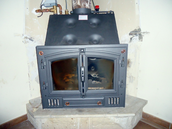 chimenea calefactora pellets