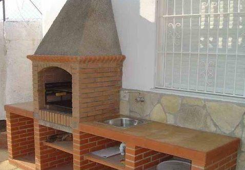 chimenea barbacoa prefabricada
