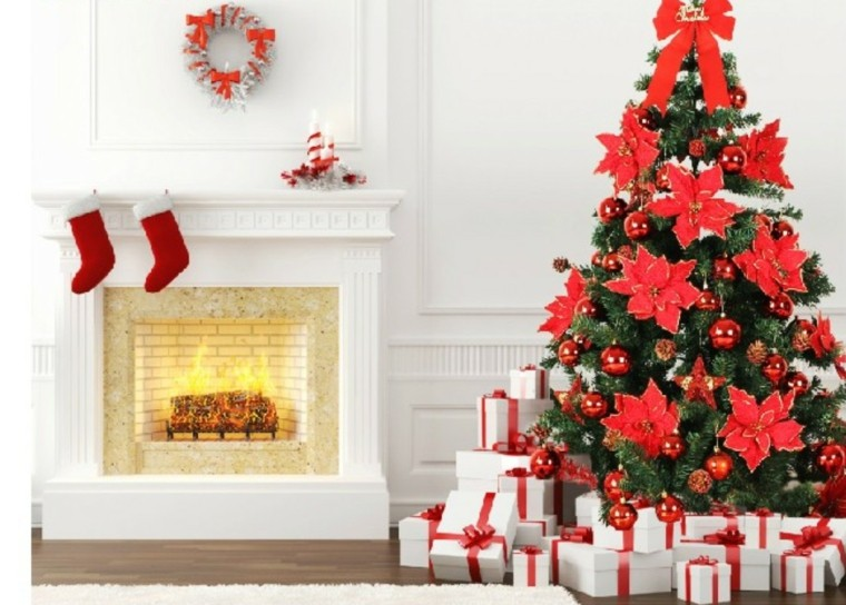 chimenea navidad poliespan
