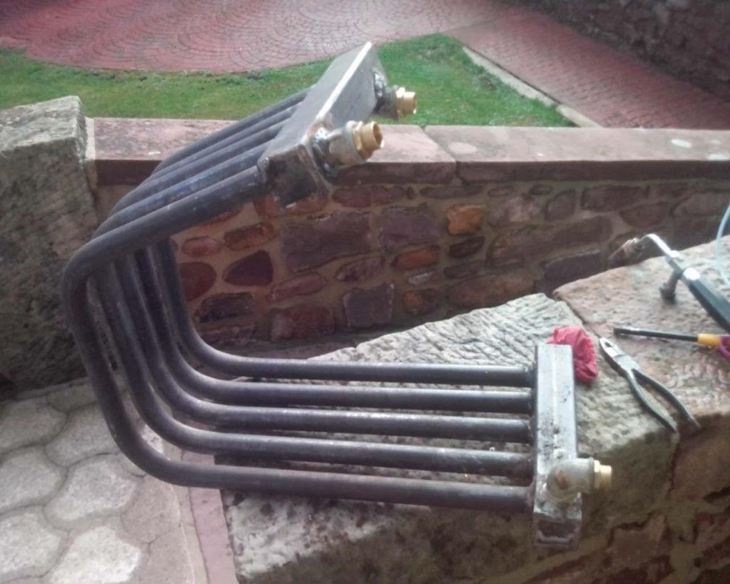 recuperador de calor para chimeneas