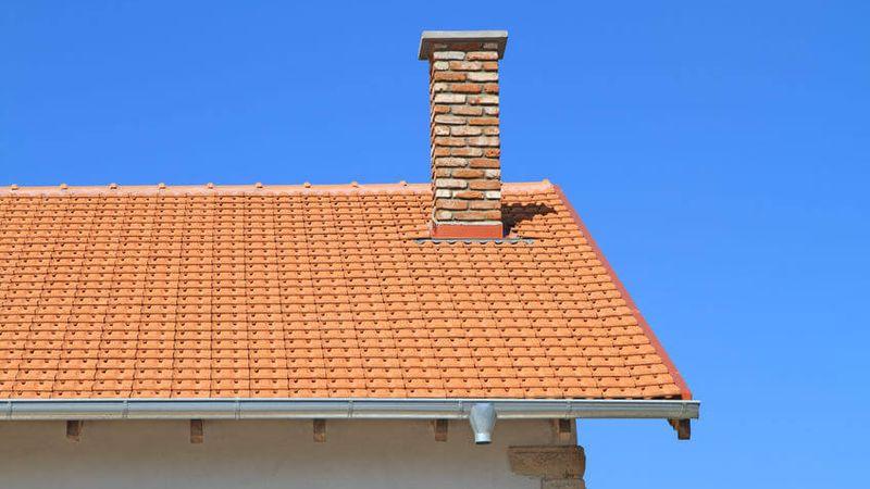 chimenea tejado chapa