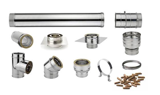 tubos para chimeneas doble pared